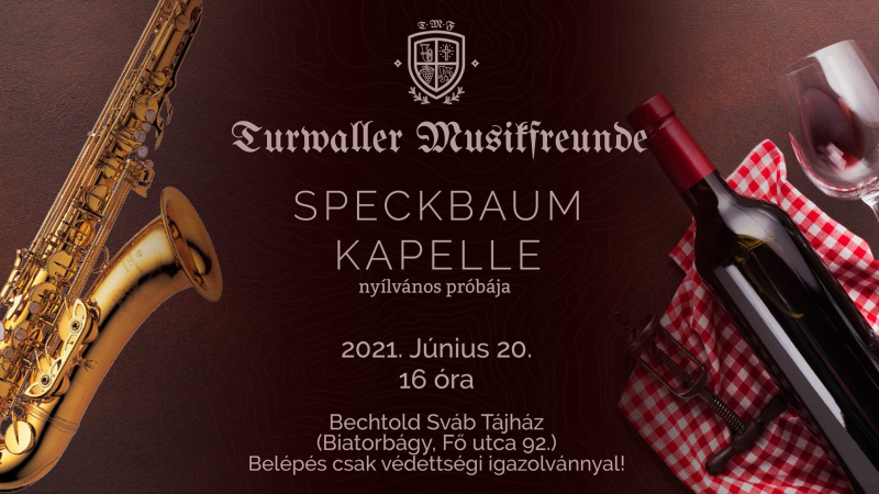 SpeckBaum Kapelle zenekar nyilvános főpróbája